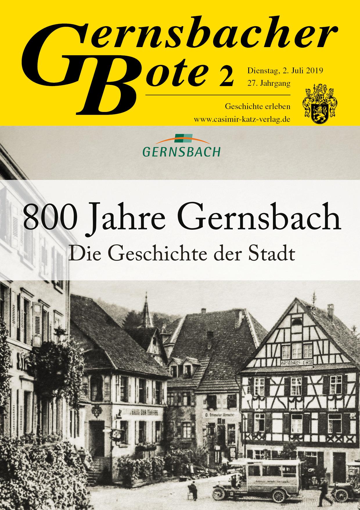 Gernsbacher Bote 03/2016